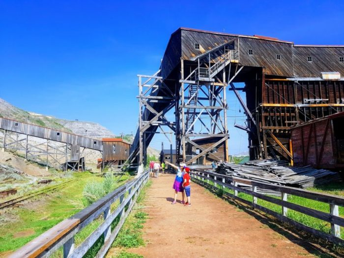 Tour the Atlas Coal Mine