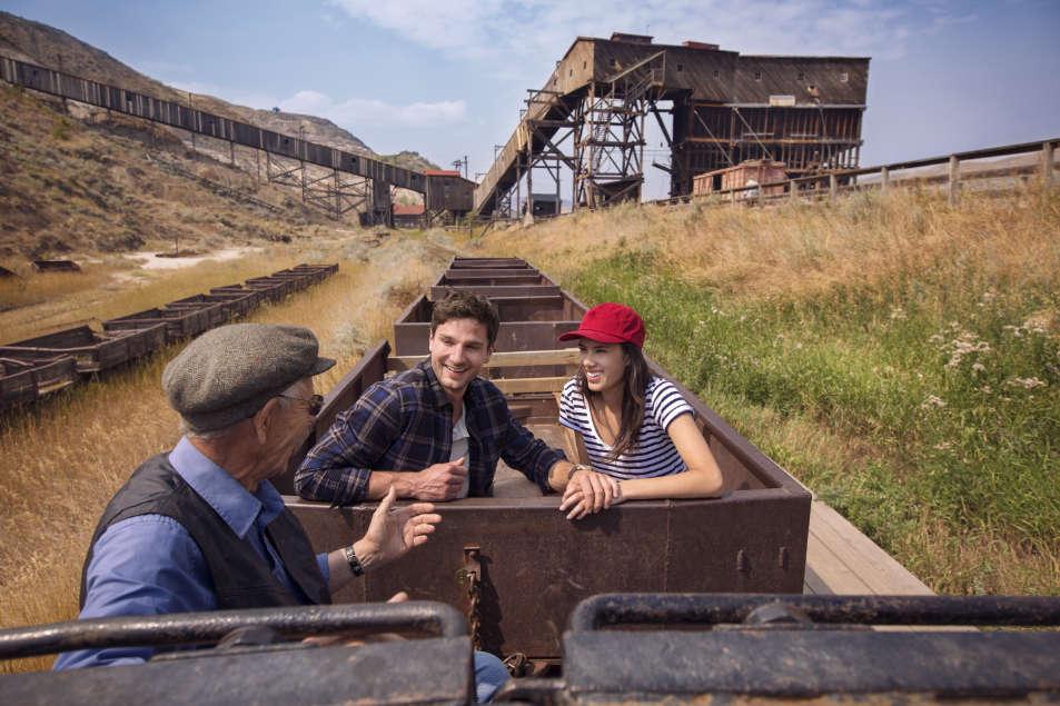 Atlas Coal Mine Train