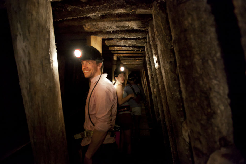 Atlas Coal Mine Tunnel Tour