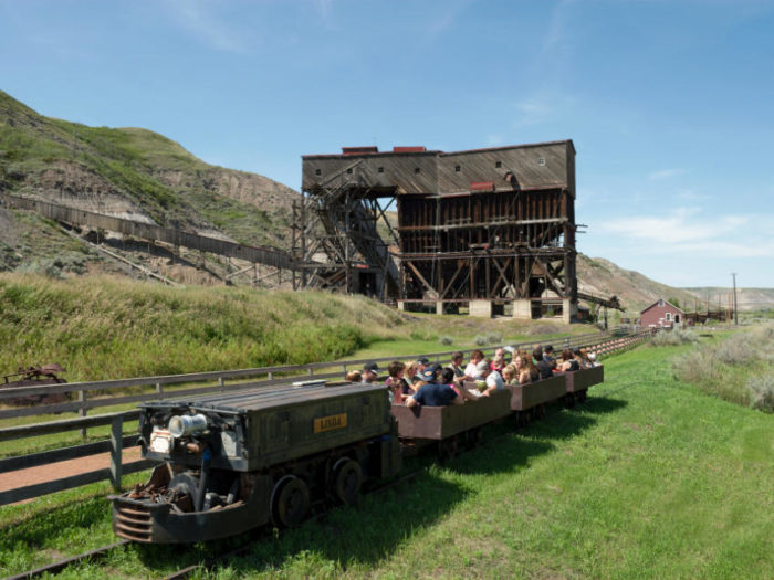 Group Tours at Atlas Coal Mine
