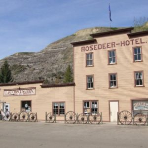 Rosedeer Hotel and Last Chance Saloon
