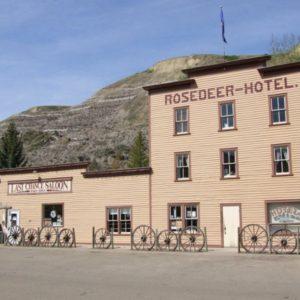 Rosedeer Hotel and Last Chance Saloon